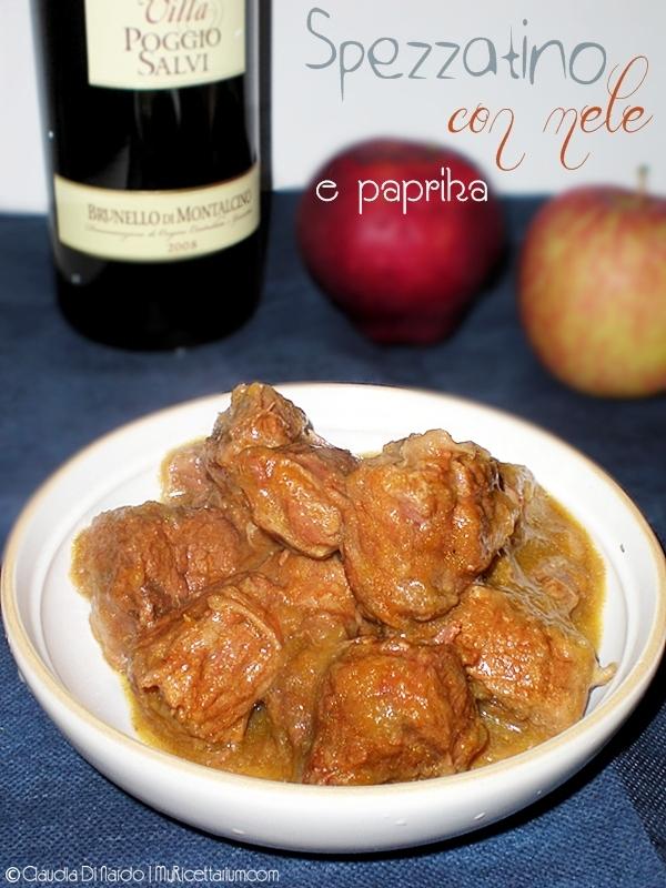 Spezzatino con mele e paprika