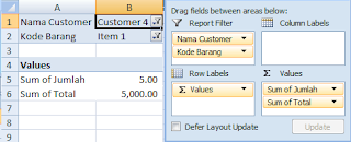 belajar pivot table