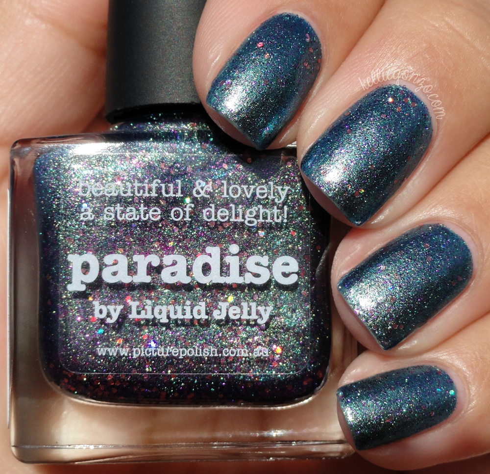 Picture Polish - Paradise by Liquid Jelly