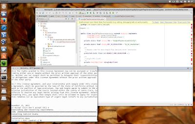 Android Studio Ubuntu Developer Tools Center