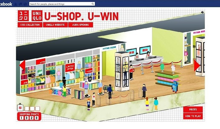 UNIQLO's Facebook App: U-Shop, U-Win Promo