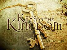 Will Not Have The Keys To The Kingdom