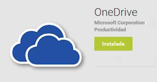 Descargar: Aplicacion OneDrive Android