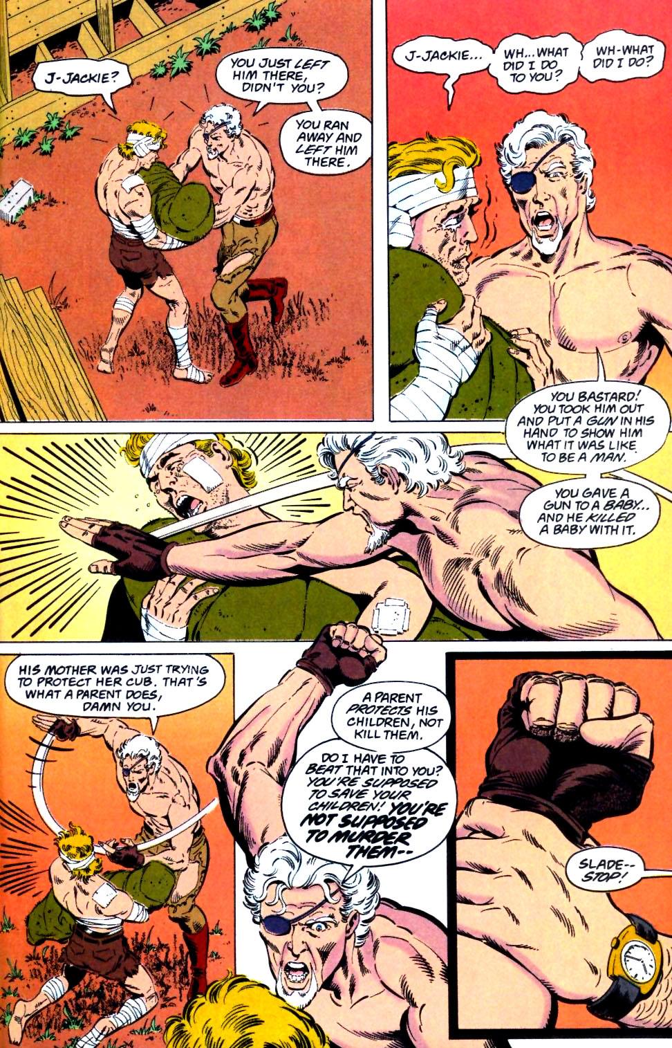 Deathstroke (1991) Issue #26 #31 - English 23