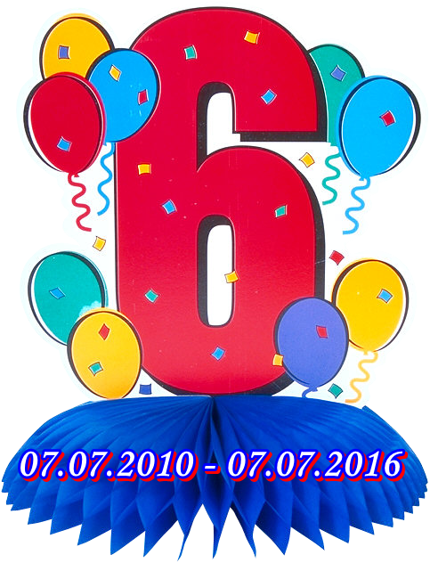 Шести рођендан сајта