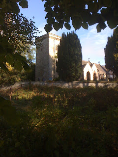 Llanelwydd Church, Builth Wells, Scenery, Fly Fishing