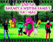 2ND GIVEAWAY - BARNEY & WEIYDA FAMILY (MAC)