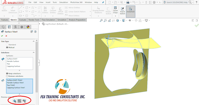 spline and surfaces solidworks 2016