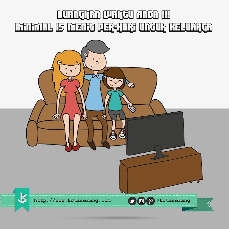 Gambar Vector - Gambar Meluangkan Waktu Untuk Keluarga