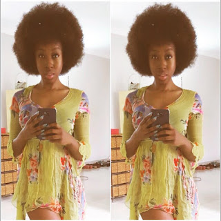Photos: Beverly Naya Shows Off Her Natural Hair