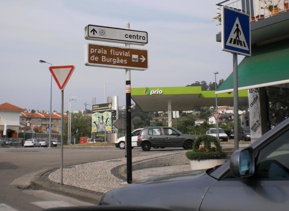 Indicações para a Praia Fluvial De Burgães e centro de Vale de Cambra