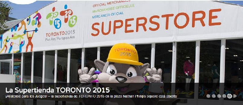 Juegos Panamericanos / Parapanamericanos de 2015 en Toronto Canadá.
