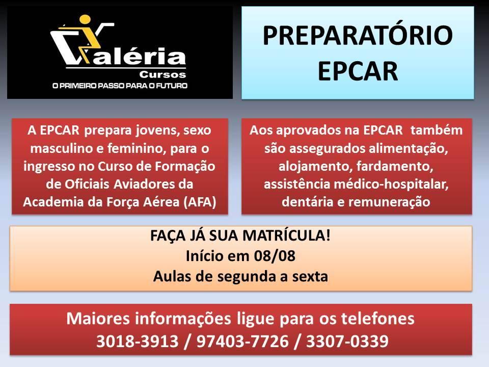 Matrículas EPCAR