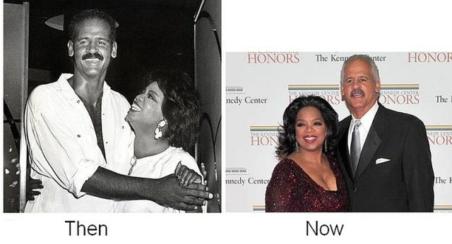 Oprah Winfrey and Stedman Graham, together since 1986