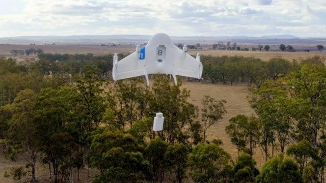 Τα drones της Google