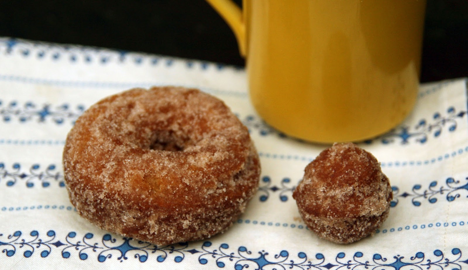 Apple Cider Doughnuts Recipe | mostly foodstuffs