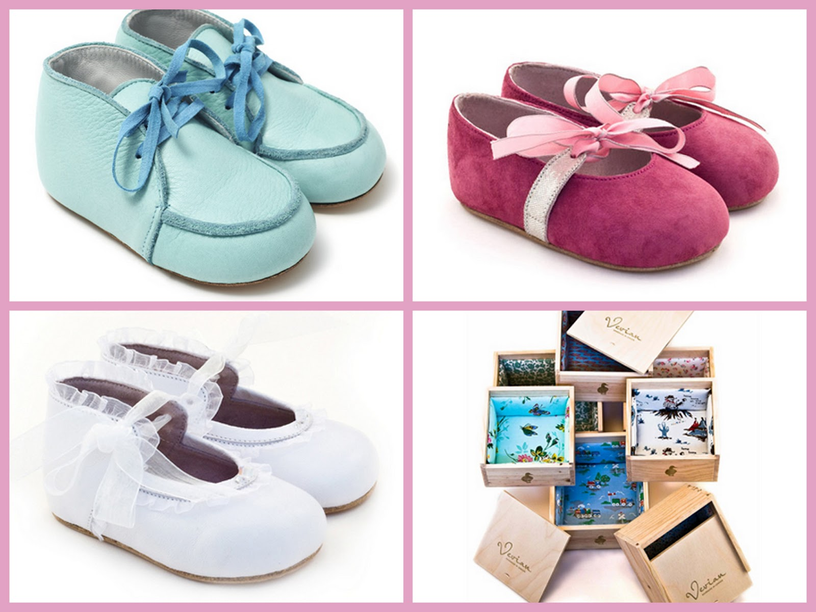 From top left clockwise, Matthew £95, Emily £89, assorted shoe boxes and Jessica £95