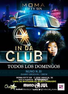 MOMA Fifty Six DOMINGO 1 de Diciembre IN DA CLUB