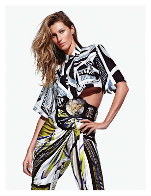 Gisele Bündchen Photos from Emilio Pucci Ad Photoshoot Spring/Summer 2014 HQ Scans