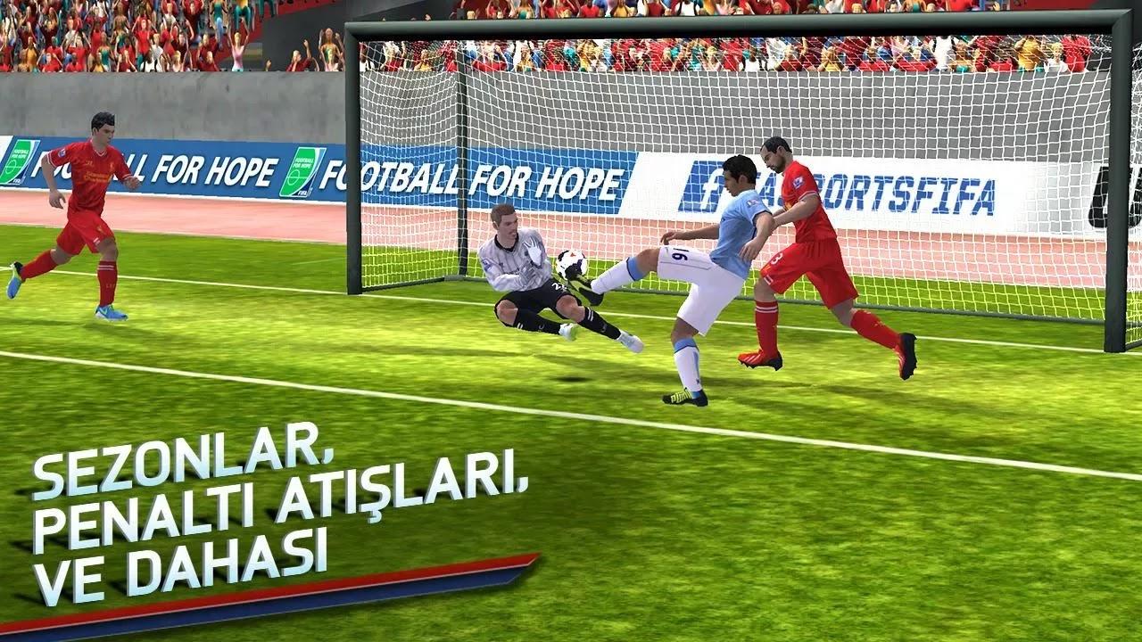 Android FIFA 14 Apk resimi 1