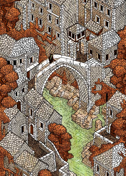 15-Where-East-Meets-West-Evan-Wakelin-Architectural-Drawings-in-Isometric-Projection-www-designstack-co