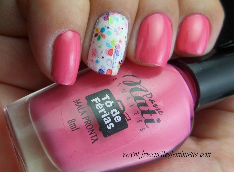 Passe Nati, Mala Pronta, Frescurites Femininas, Pink Polish