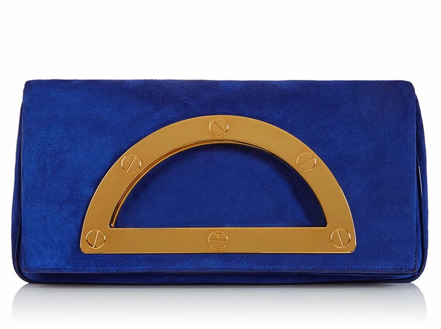 Tom Ford Cobalt Blue Clutch