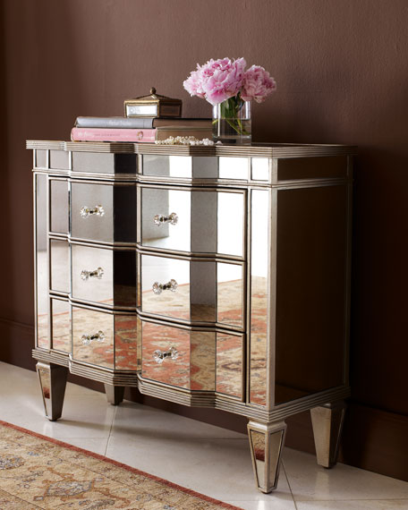 Perfect Mirrored Dresser From Z Gallerie. Mirrored Credenza From Nieman Marcus
