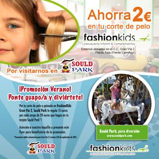 Este verano, �Sould Park y FashionKids premian a sus visitantes