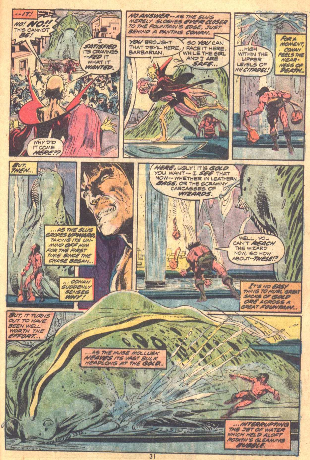Conan the Barbarian (1970) Issue #37 #49 - English 20