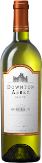 bottle shot of Downton Abbey Bordeaux Blanc