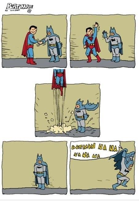 ¡Na na na na Batman!