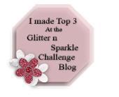 Glitter N Sparkle Badge
