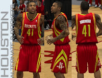 NBA 2K13 Houston Rockets Alternate 2 Jersey (ROCKETS)