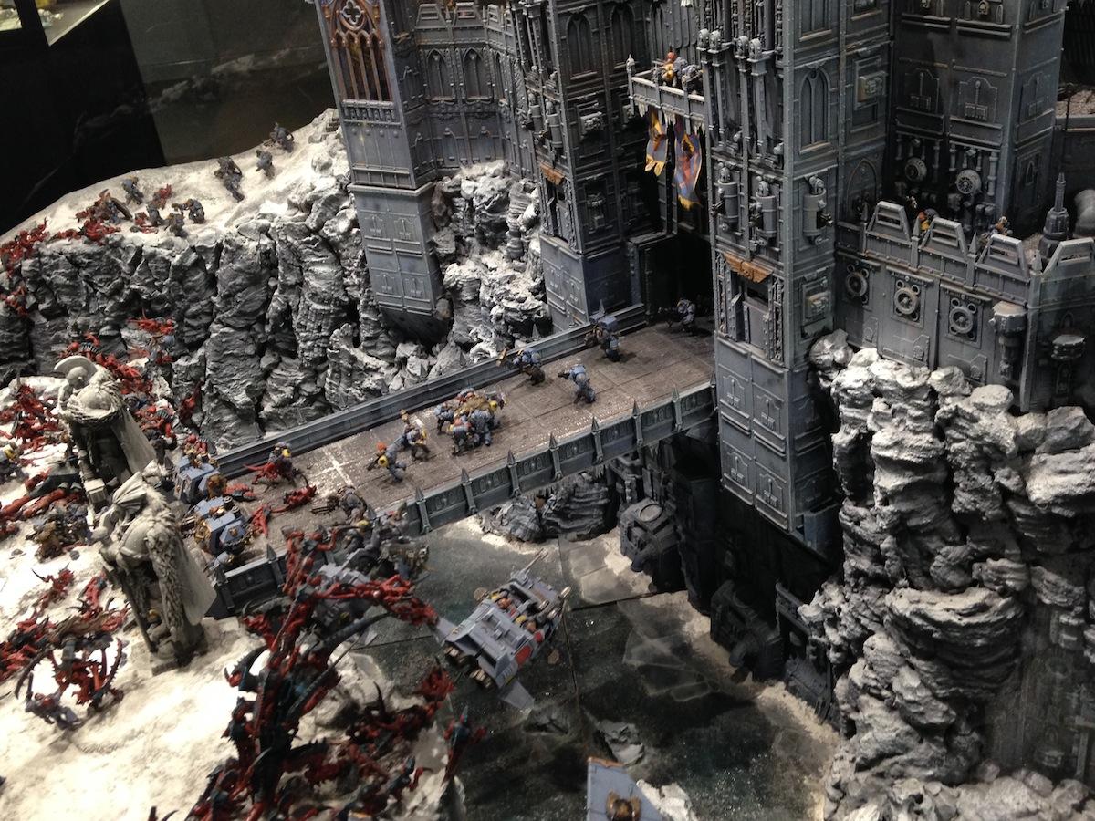 Warpstone Flux Warhammer World Space Wolves Vs Tyranids