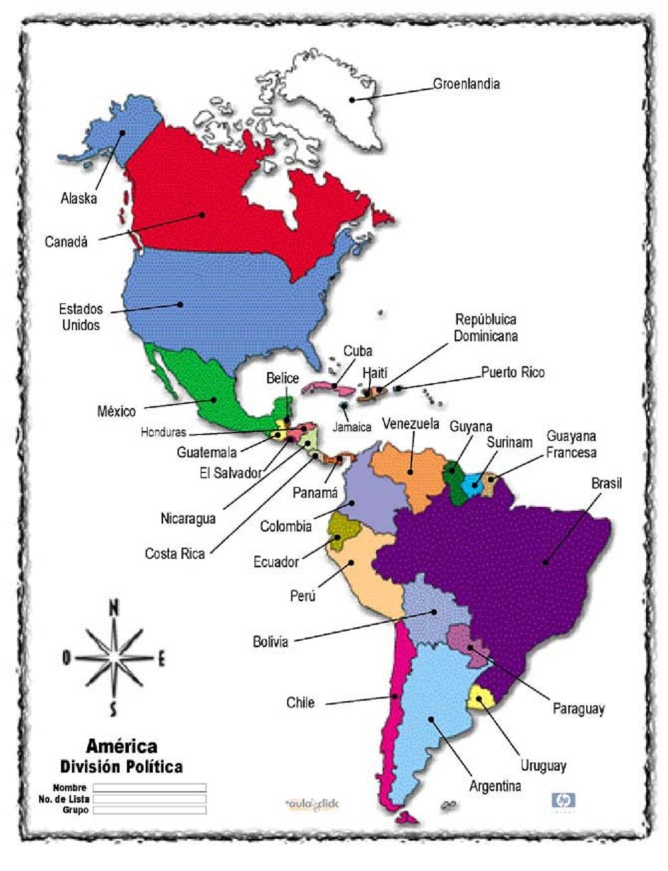 Mapa Politico De Africa Capitales