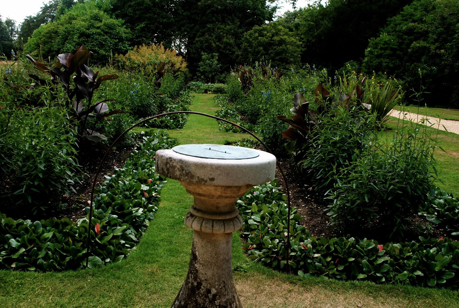 Charles Darwin's Sundial at the Downe House Garden