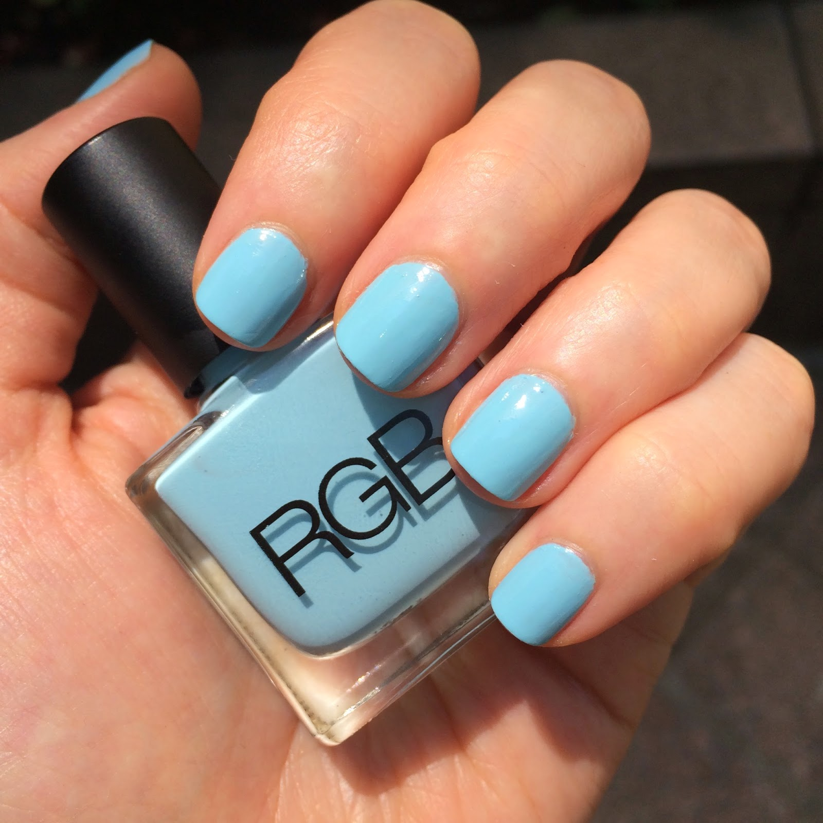 A Little Bit etc.: RGB Cosmetics Nail Polish in Pool