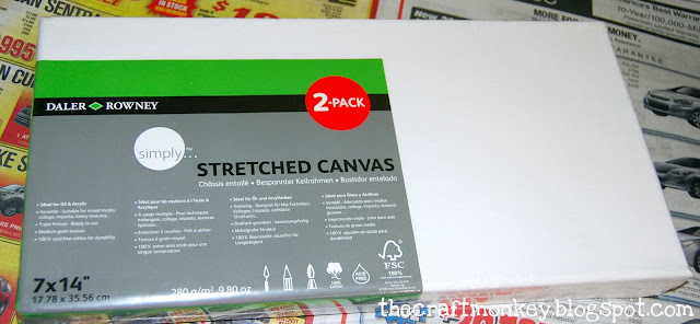 Stretched canvas