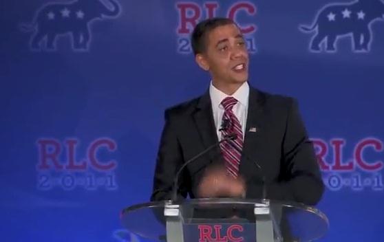 Barack Obama tiruan