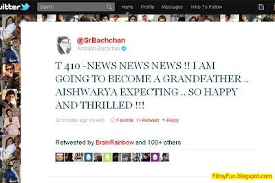 Amitabh Bachchan Tweets Aishwarya Pregnant_FilmyFun.blogspot.com