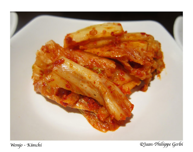 Image of Kimchi at Wonjo Korean Restaurant in Koreatown NYC, New York