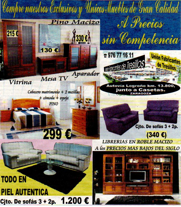 muebles de pino zaragoza