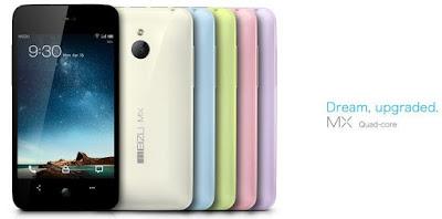 Harga dan Spesifikasi Meizu MX Quad-Core Android 4.0