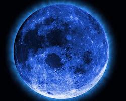 A lua azul Dan rsrs