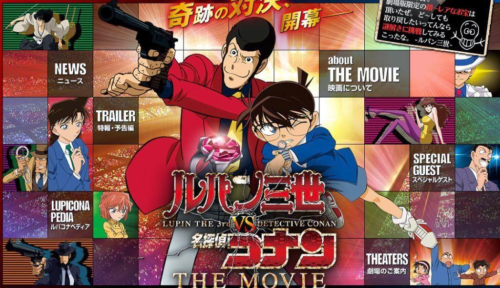 Download Lupin III vs Detective Conan the Movie Sub Indo