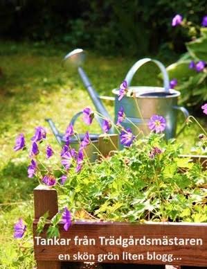 Zonkarta för trädgårdsbloggare