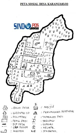 Profil Desa & Kelurahan, Desa Karangmojo Kecamatan Balong Kabupaten Ponorogo