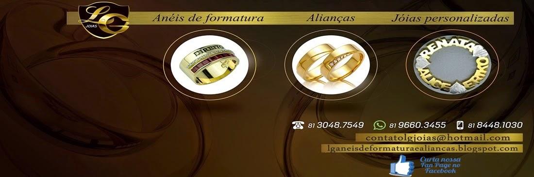 LG Anéis de formatura e Alianças