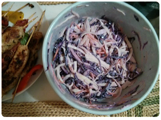 mayonnaise free coleslaw, healthy coleslaw